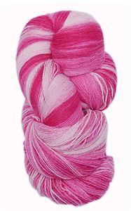 Kauni 8/2 - Farveskifte 100% Uldgarn fra Kauni  -  W-EE Sart rosa til Pink