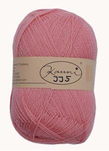 Kauni 8/2 - Ensfarvet 100% Uldgarn fra Kauni  -  W-JJ5 Lakse Rosa