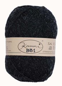 Kauni 8/2 - Ensfarvet 100% Uldgarn fra Kauni  -  W-BB1 koksgrå