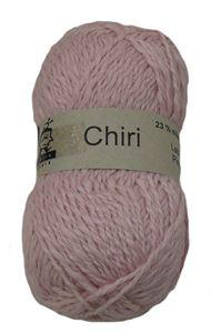 Lækker blød Chiri af silke og alpaka fra Butik Strik - Rosa