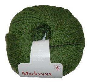 Lækker blød Uld, Alpakka og Mohair garn - Madonna fra Permin - 19 Flaskegrøn