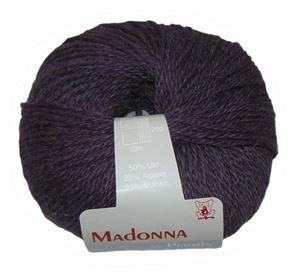 Lækker blød Uld, Alpakka og Mohair garn - Madonna fra Permin - 11 Lilla