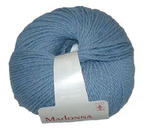 Lækker blød Uld, Alpakka og Mohair garn - Madonna fra Permin - 06 Blå
