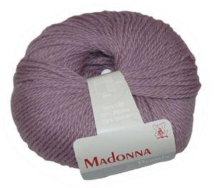 Lækker blød Uld, Alpakka og Mohair garn - Madonna fra Permin - 04 Drue