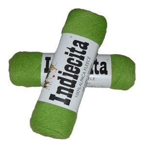 Blød 100% alpakka - Indiecita fra Filcolana - 260 Æblegrøn