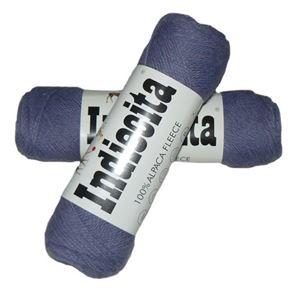 Blød 100% alpakka - Indiecita fra Filcolana - 230 Lavendel
