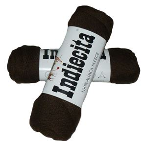 Blød 100% alpakka - Indiecita fra Filcolana - 302 Chokolade