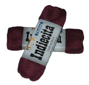 Blød 100% alpakka - Indiecita fra Filcolana - 245 Vin