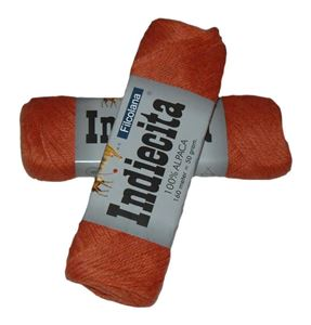 Blød 100% alpakka - Indiecita fra Filcolana - 237 Orange