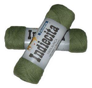 Blød 100% alpakka - Indiecita fra Filcolana - 221 Græsgrøn