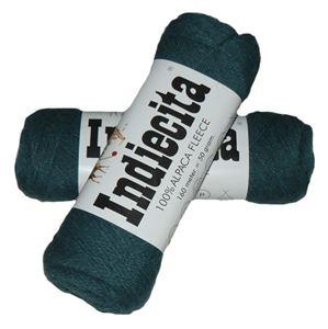 Blød 100% alpakka - Indiecita fra Filcolana - 146 Grågrøn