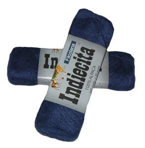 Blød 100% alpakka - Indiecita fra Filcolana - 229 Mørkeblå