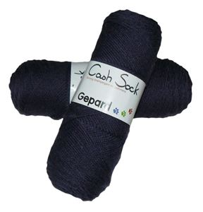 888CashSock - lækkert strømpegarn med cashmere - 6013 Lilla
