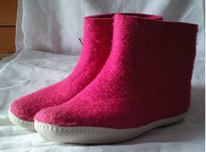 Glerups Filtstøvle - Pink