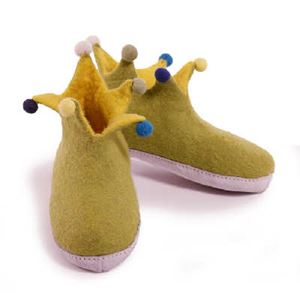 Betterfelt Jester børnestøvle - grøn