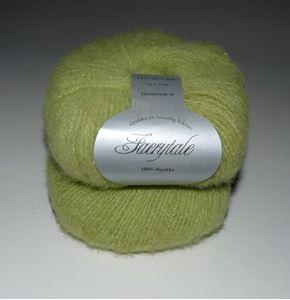 Suri Alpakka - Faerytale til løst strik fra Du Store Alpakka - 703 Æblegrøn