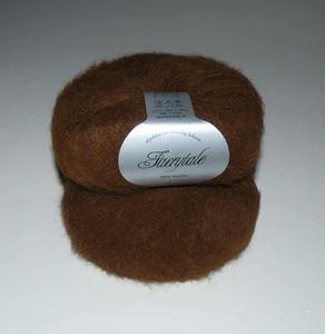 Suri Alpakka - Faerytale til løst strik fra Du Store Alpakka - 721 Brun