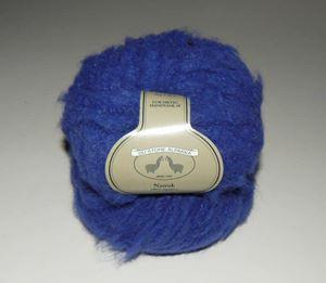 Tykt Nanuk - 100% Alpakka strikkegarn fra Du Store Alpakka - 614 Blå
