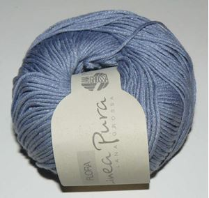 bomuld soja garn - Flora fra LanaGrossa - 004 Lavendel