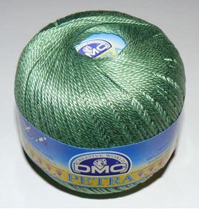 DMC Petra 3 - Merceriseret bomuld hæklegarn fra DMC - 53900 Græsgrøn