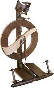 Moderne spinderok med dobbelte kuglelejer Fantasia fra Kromski
