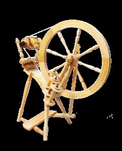 Traditionel skamlerok med indbygget tenhus til 3 spoler - Kromski Interlude