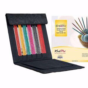 KnitPro Dreamz Strømpepinde Sæt - 20 cm