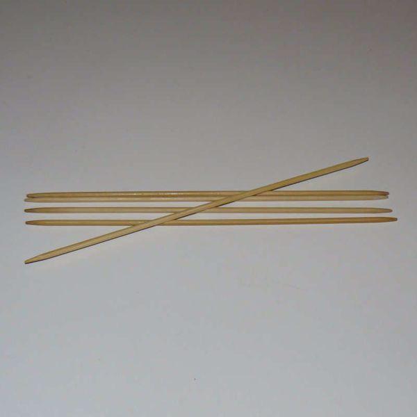 Billede af Bambus Strømpepinde - 20 cm