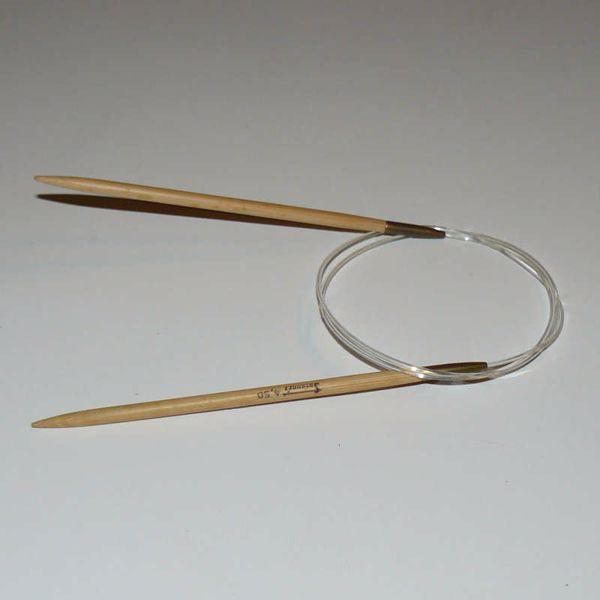 Billede af Bambus Rundpind 80 cm - 4mm