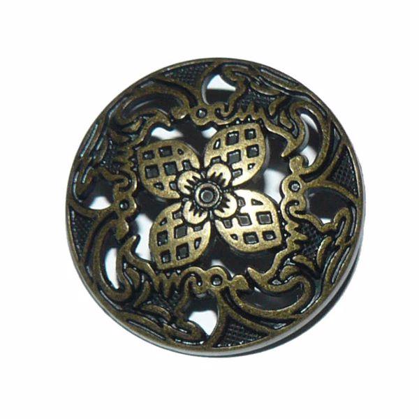 Billede af Åben metal knap