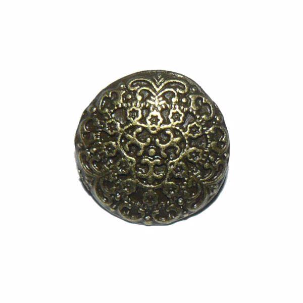 Billede af Snirklet  metal knap