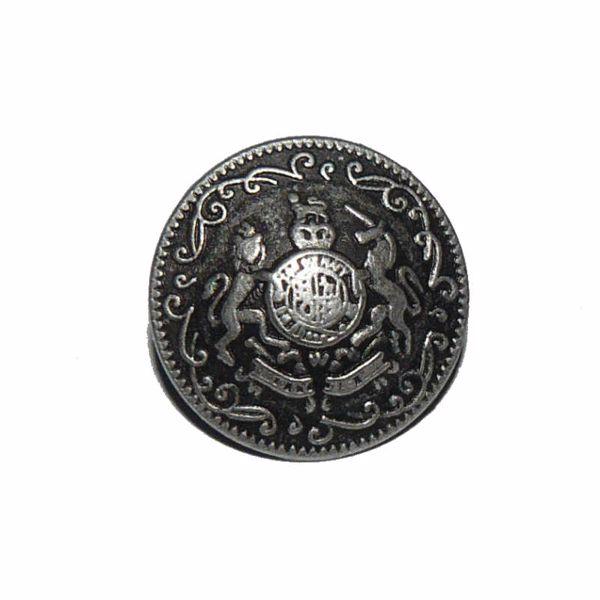 Billede af Våbenskjold metal knap