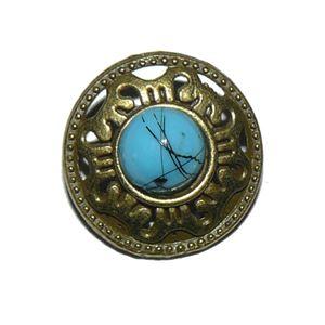Perle metal knap