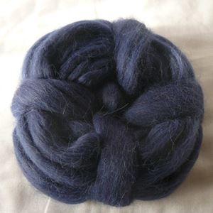 Alpakka tops - Blå