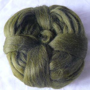 Alpakka tops - Flaskegrøn