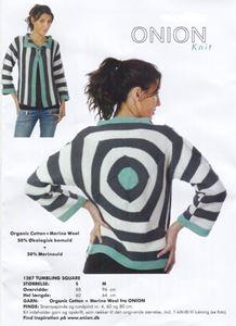 ONION Tumbling Square trøje GarnKit
