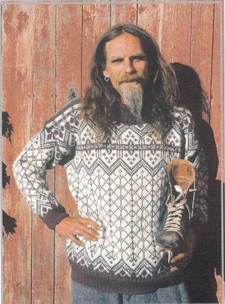 Billede af Traditionel norsk sweater