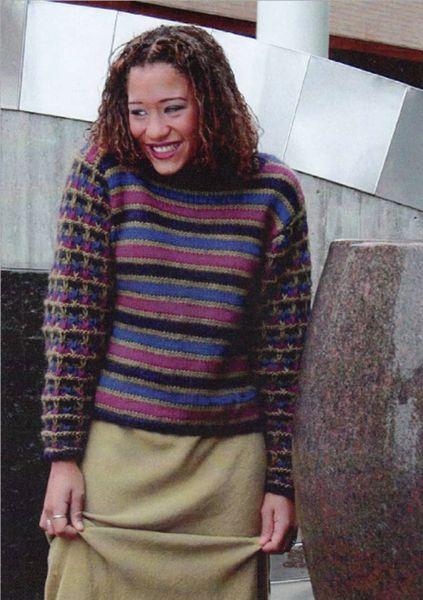 Billede af Stribet bluse