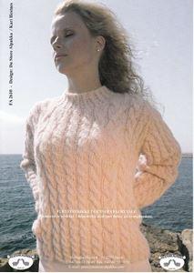 Bluse med snoninger - FA 2610 af Fairytale fra Du Store Alpakka