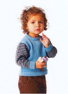 Barnetrøje - August - 342 Naturfiber