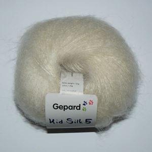 Super lækker og blød Kid Silk 5 - Kidmohair og silke fra Grignasco - 406 Natur Hvid