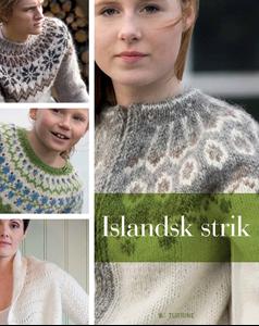 Islandsk Strik fra Forlaget turbine - 65 lækre strikkeopskriftet