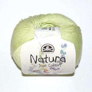 DMC Natura Just Cotton - lækkert miljøvenligt bomuldsgarn - Garn fra DMC - N12 Lys Æblegrøn