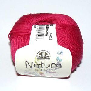 DMC Natura Just Cotton - lækkert miljøvenligt bomuldsgarn - Garn fra DMC - N61 Cherisserød