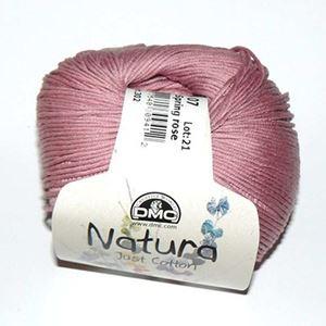 DMC Natura Just Cotton - lækkert miljøvenligt bomuldsgarn - Garn fra DMC - N07 Gammelrosa