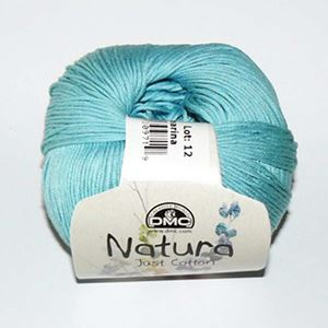 DMC Natura Just Cotton - lækkert miljøvenligt bomuldsgarn - Garn fra DMC - N25 Lys Turkis