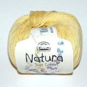 DMC Natura Just Cotton - lækkert miljøvenligt bomuldsgarn - Garn fra DMC - N83 Creme Gul