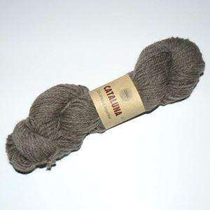 Cataluna Ufarvet Naturuld - Lækkert strikke garn fra CeWeC - 13 Lys Brun
