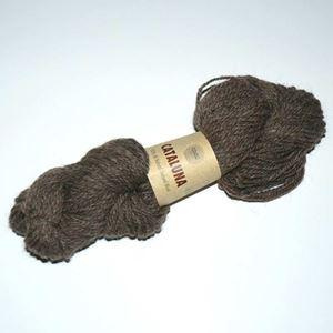 Cataluna Ufarvet Naturuld - Lækkert strikke garn fra CeWeC - 14 Brun