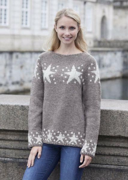 Billede af Sweater med stjerner af Cataluna